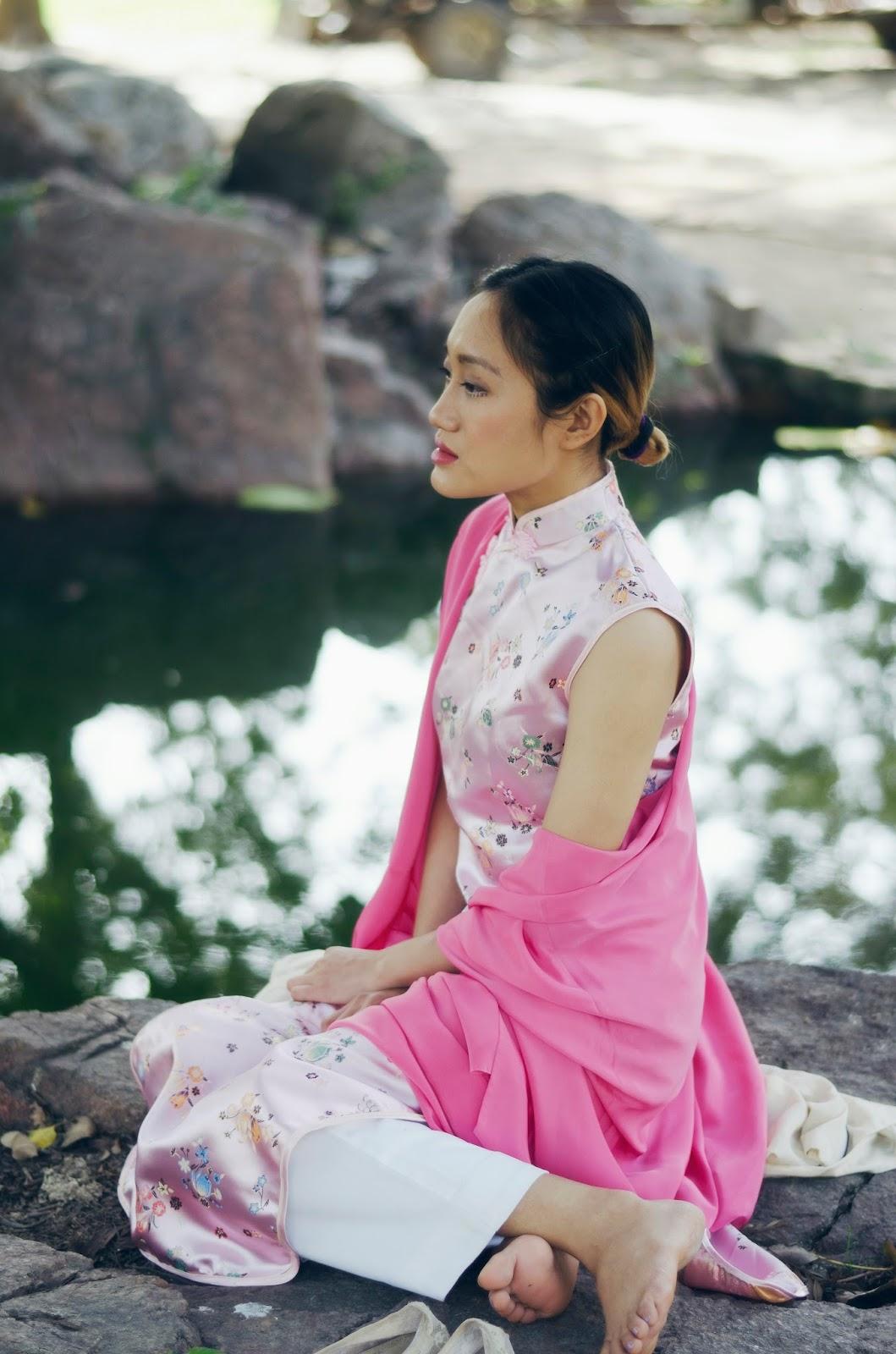 March, Spring, SS15, Flowers, Chinese Dress, Qipao Cheongsam, Silk 0