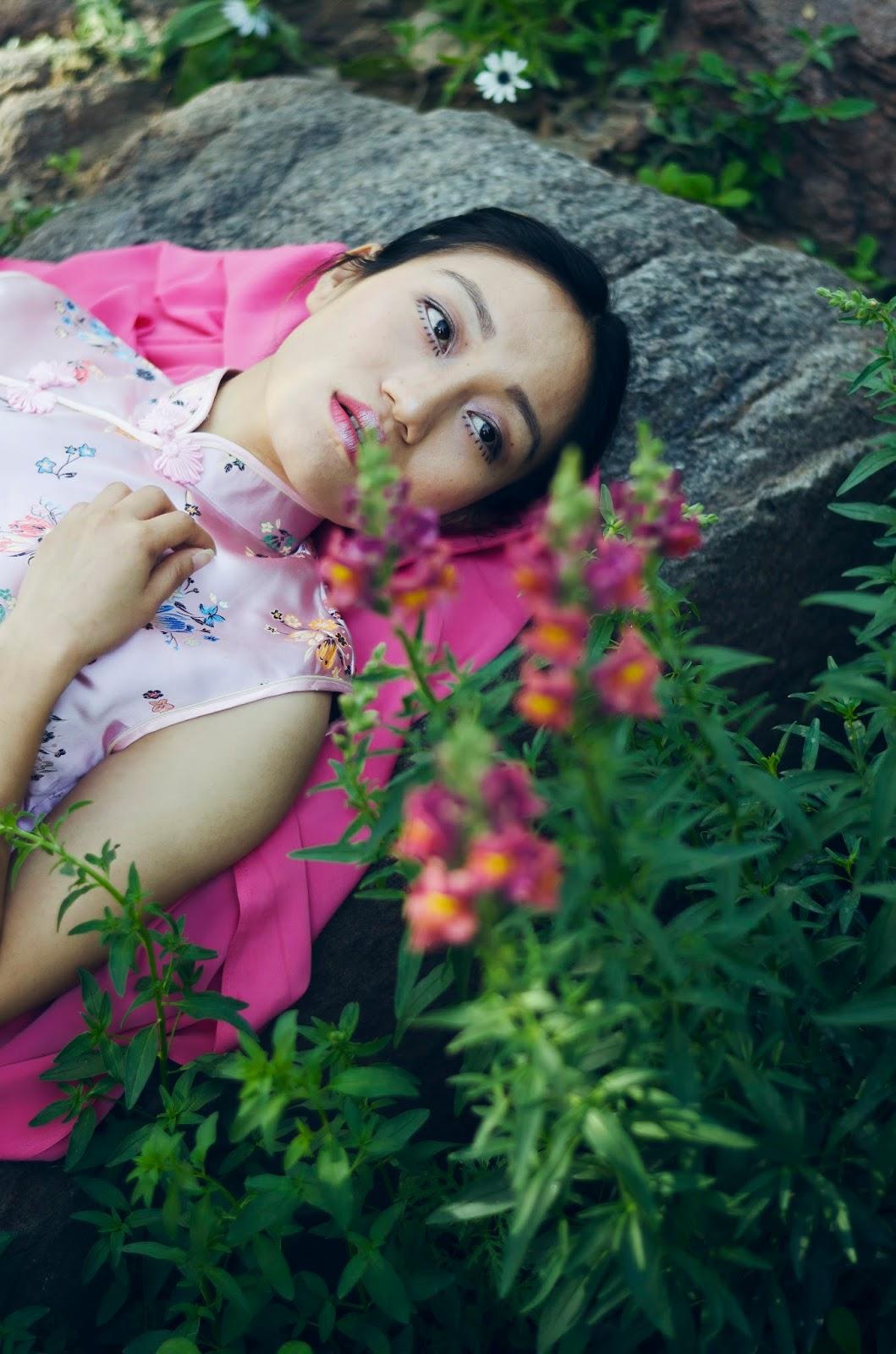 March, Spring, SS15, Flowers, Chinese Dress, Qipao Cheongsam, Silk 1