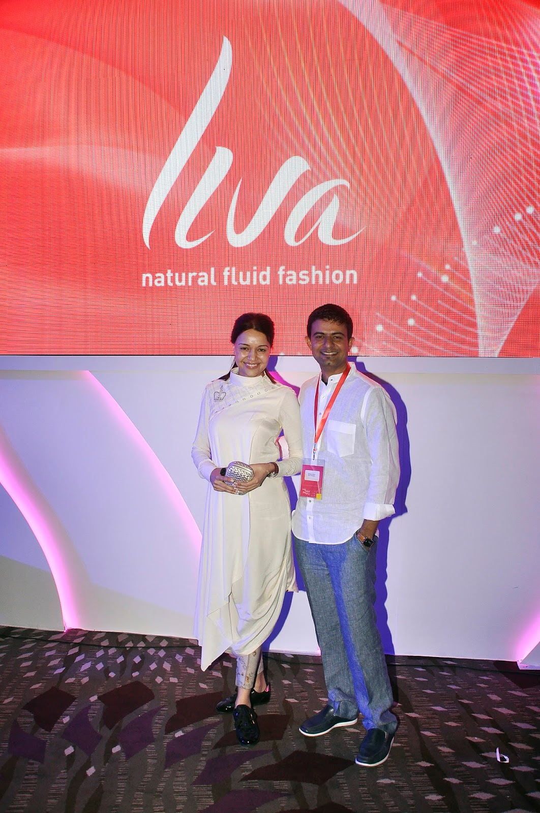 Fashion-designers- Puja Naiyyar and Sohum Dave at the launch of LIVA