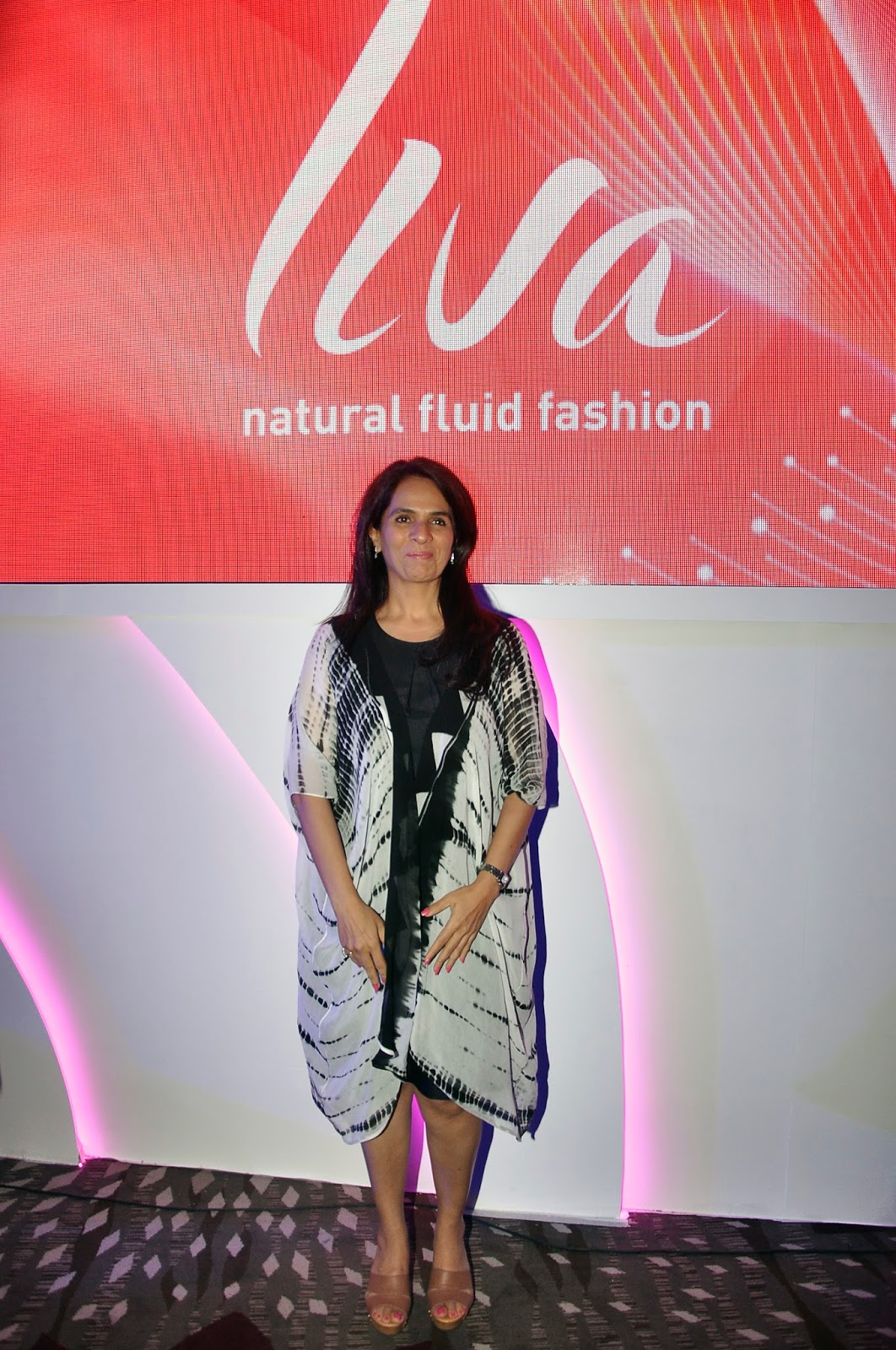 Renowned fashion designer, Anita Dongre at the launch of LIVA