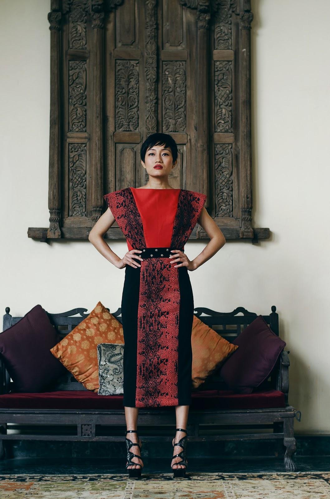 MANIKA NANDA, Monet-esque, sci-fi character, Effie Trinket, dark, broody, edgy, sexy, Shaharpur Jat, Designers, Indian Designers, floral magnetism, dark romance
