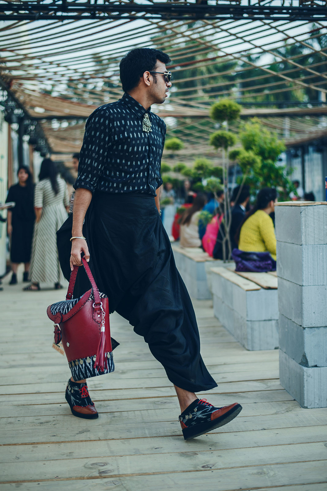 AIFW SS16 STREET STYLE DAY5 Photo by Rawky Ksh 7