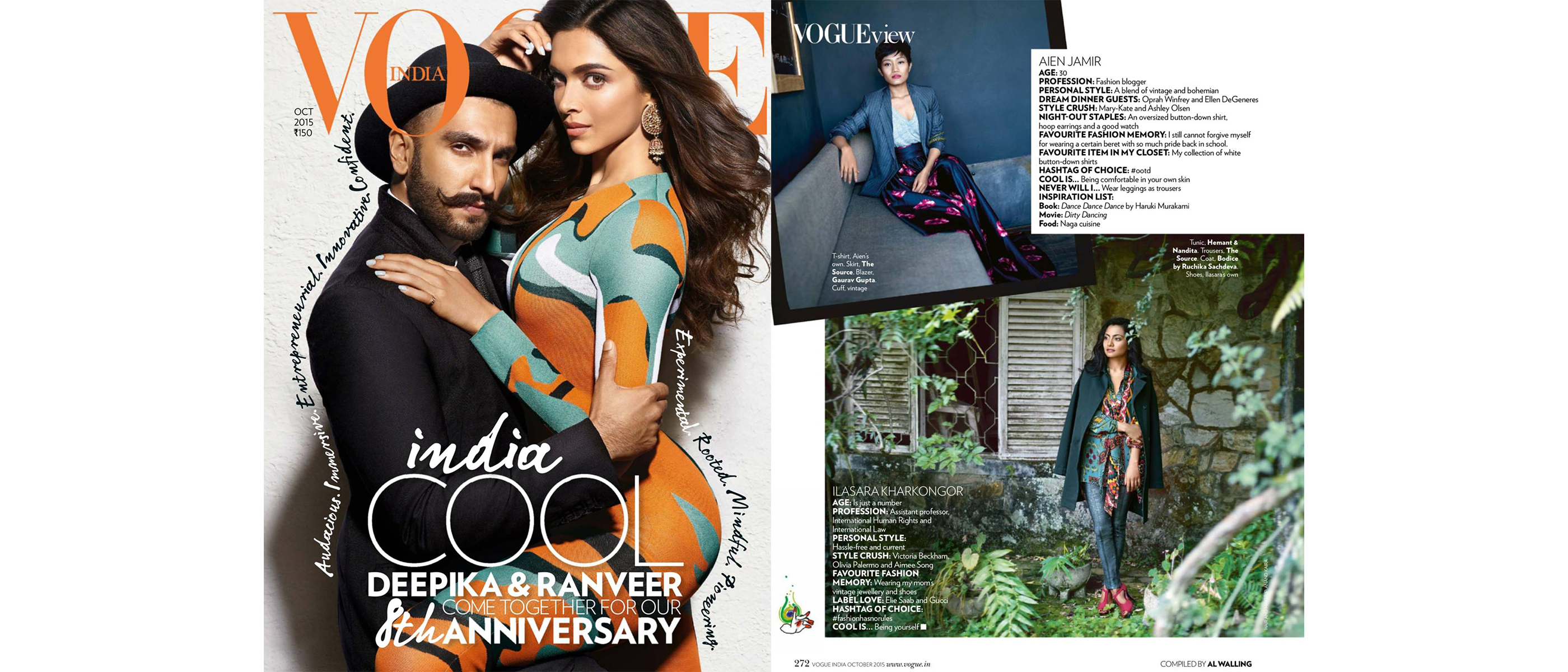 Vogue India October 2015 Issue FINAL