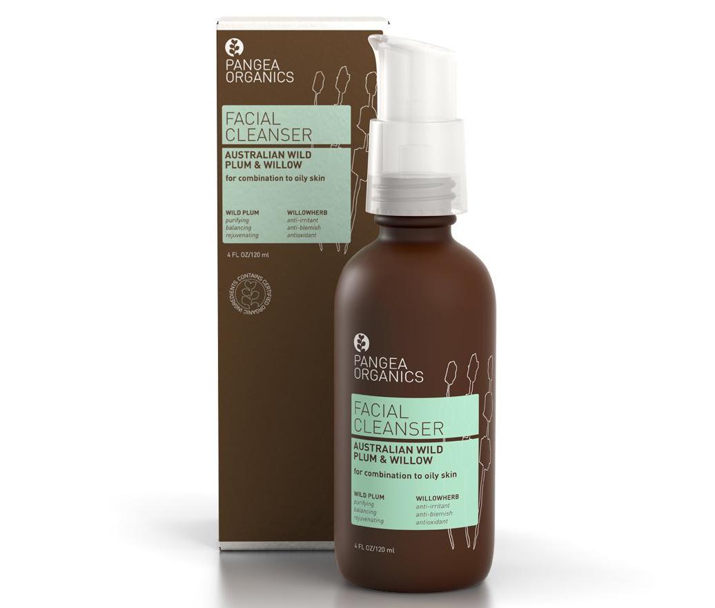 Pangea-Organics-Australian-Wild-Plum-and-Willow-Facial-Cleanser,-120mlX