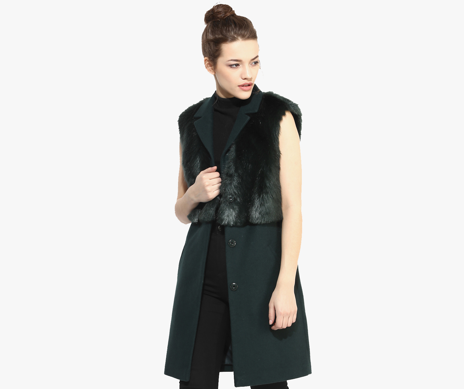 TOPSHOP-Sleeveless-Faux-Fur-Hybrid-Coat