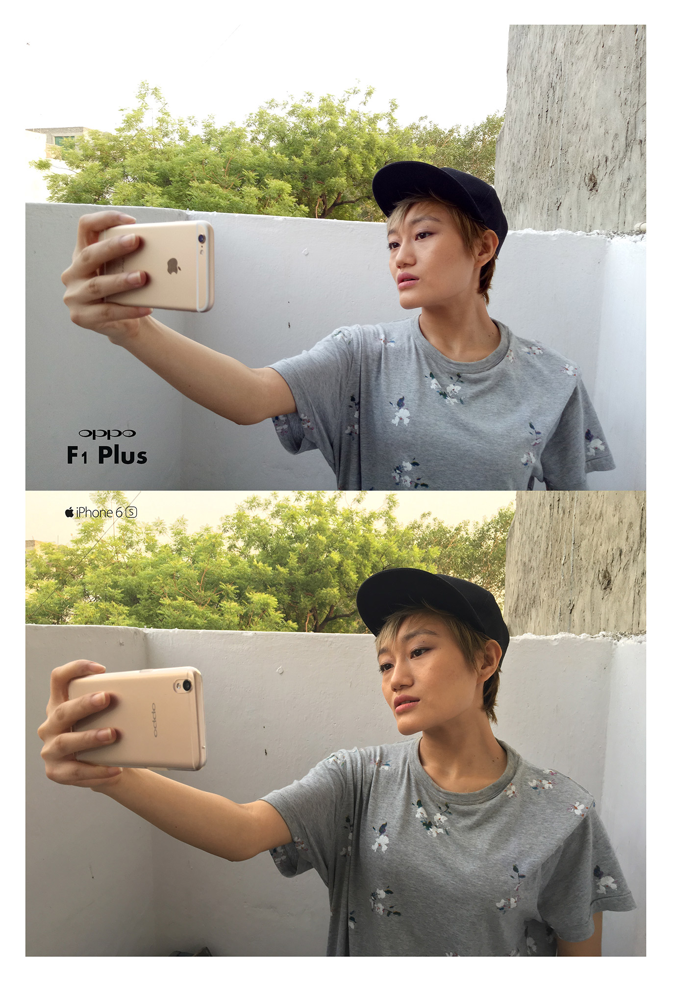 OPPO F1 Plus Vs iPhone 6s-Rear-Camera-Day-Light