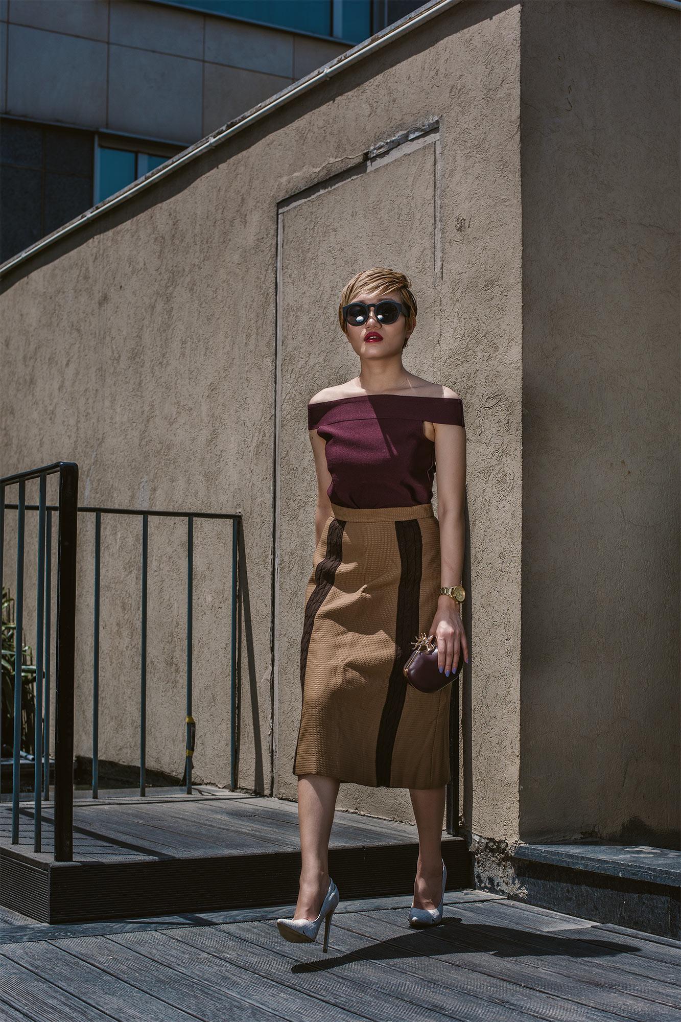 Ways To Wear Bardot Top 6
