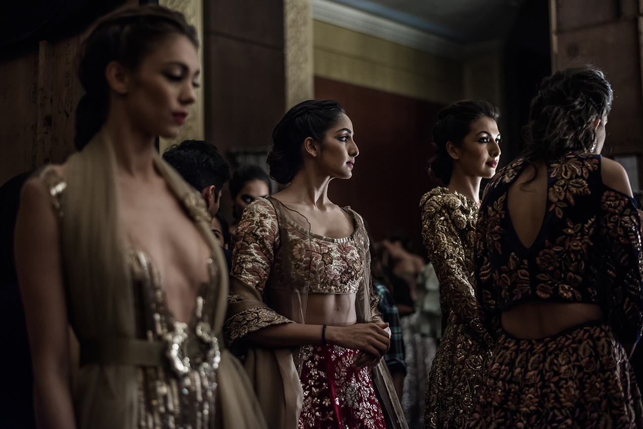 Backstage FDCI India Couture Week 2016 Photo by RAWKY KSH 14