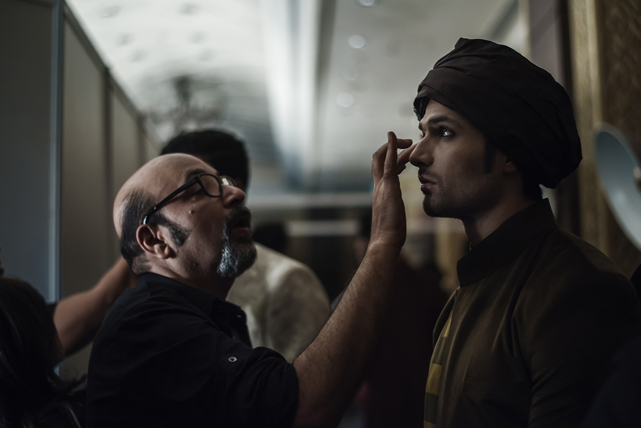 Backstage FDCI India Couture Week 2016 Photo by RAWKY KSH 33