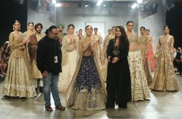 Designer Rimple & Harpreet Narula with Actress Yami Gautam @ FDCI India Couture Week 2016
