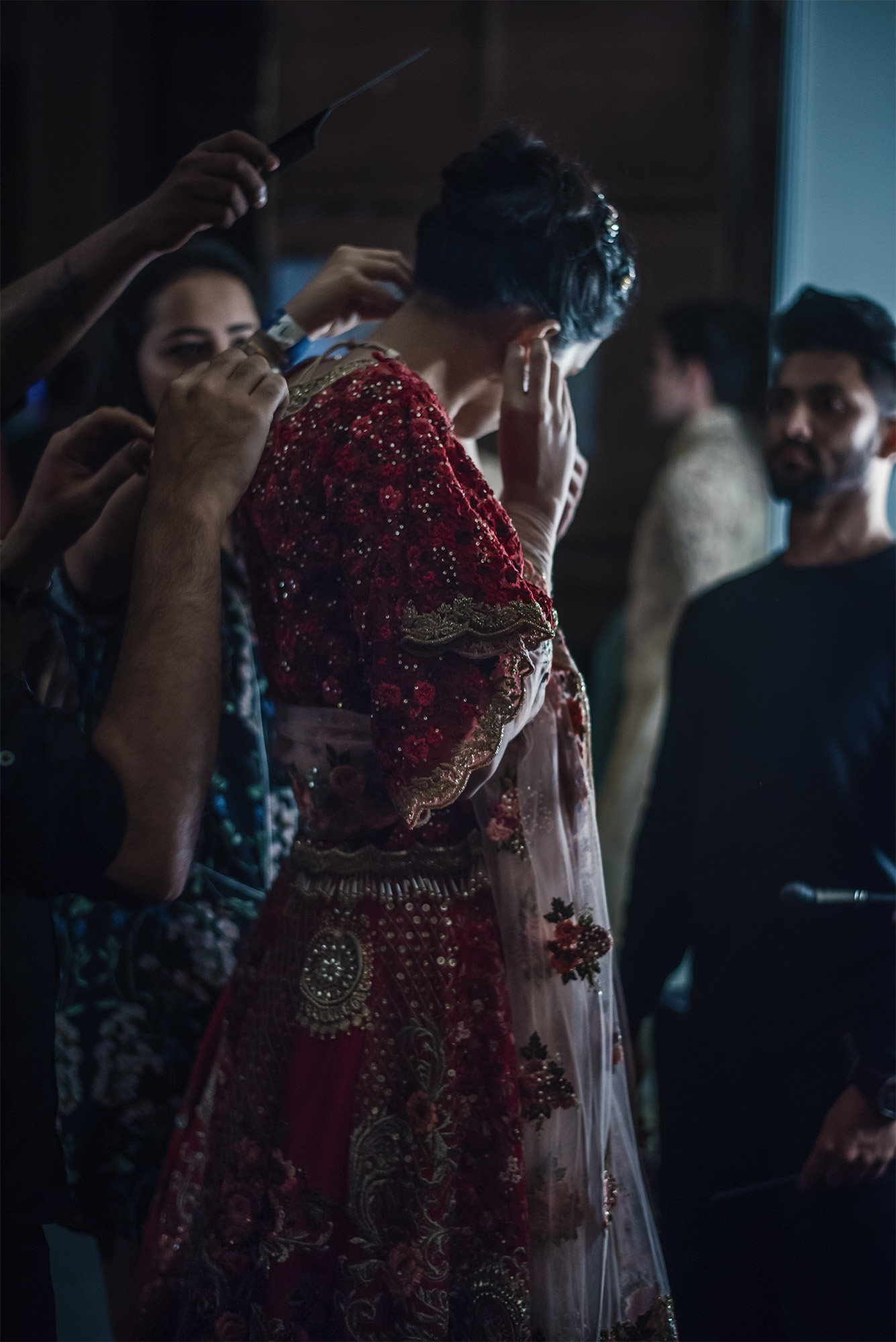 M.A.C. Backstage FDCI India Couture Week 2016 Photo by RAWKY KSH 35