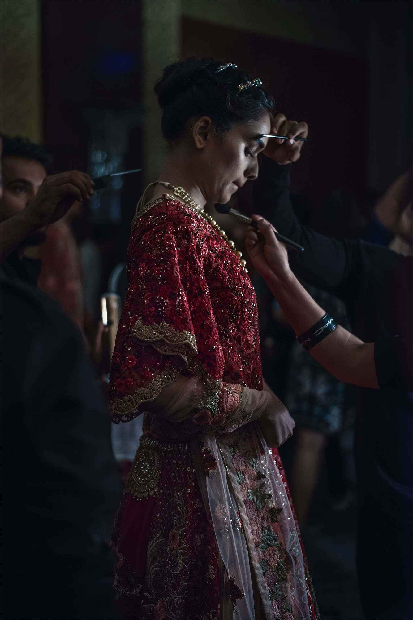 M.A.C. Backstage FDCI India Couture Week 2016 Photo by RAWKY KSH 36